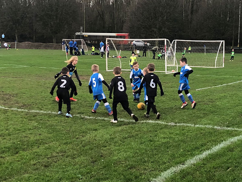 LCM Group sponsors Springfield FC under 7s football team