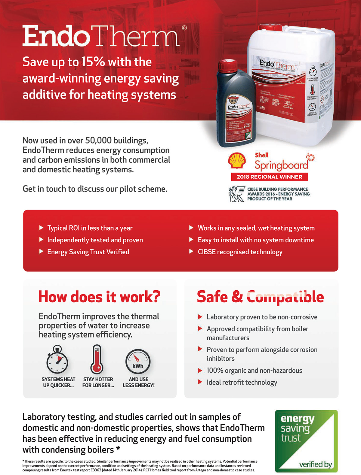 EndoTherm - Energy Saving Heating Additive